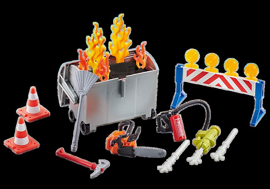 9804 Tűzoltósági kellékek detail image 1