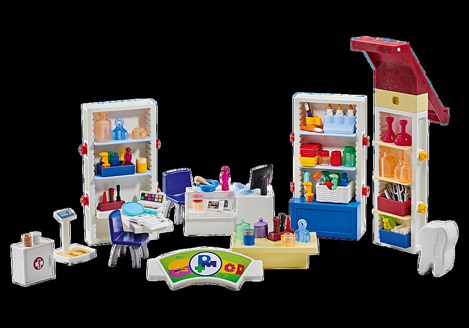 http://media.playmobil.com/i/playmobil/9808_product_detail/Aménagement pour pharmacie