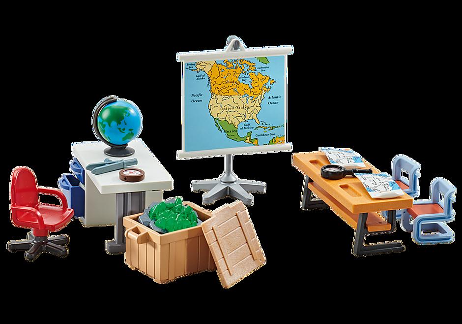 9810 Salle de classe géographie  detail image 1