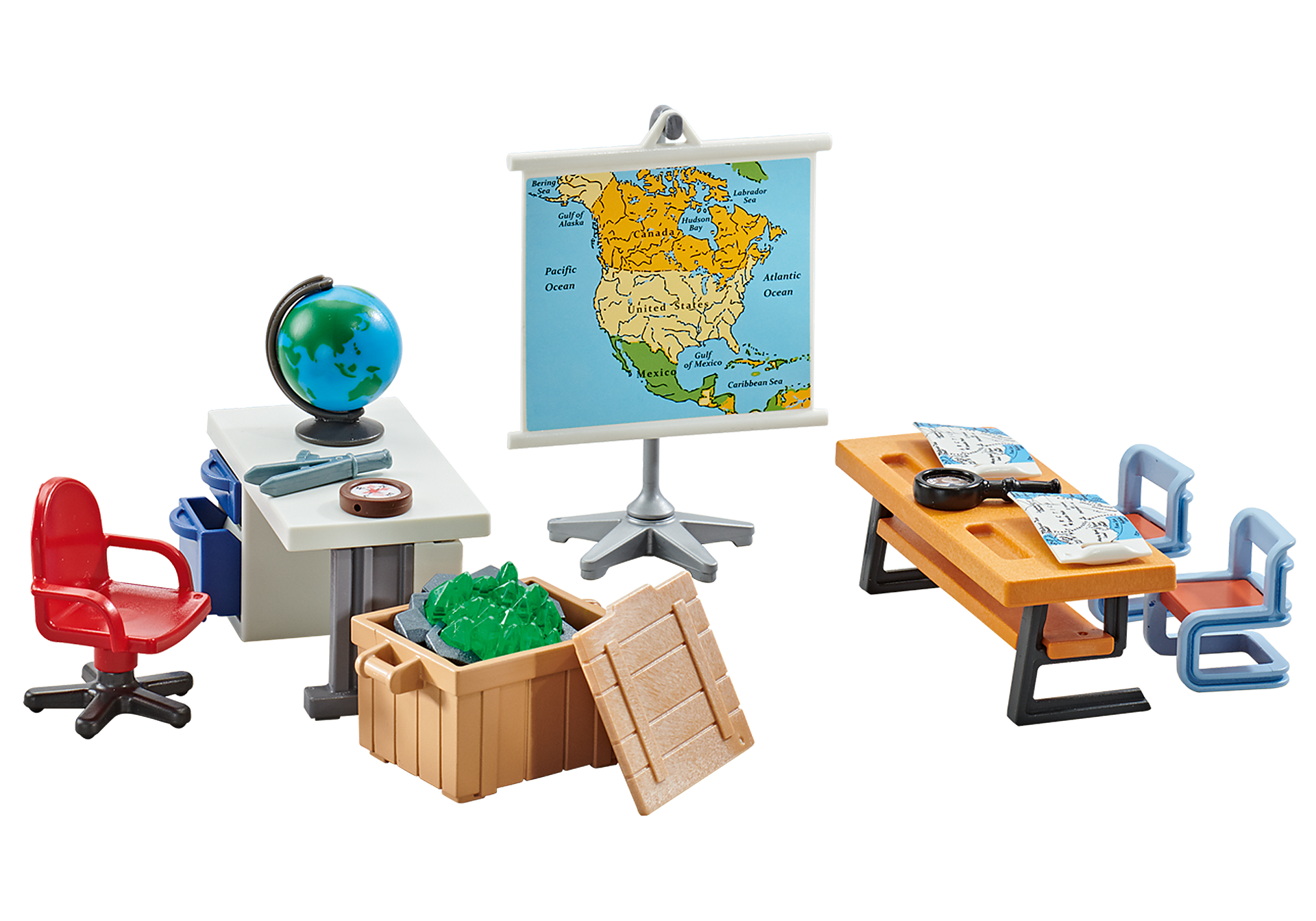 9810 Salle de classe géographie  zoom image1
