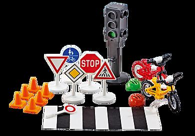 9812 Εξοπλισμός και σήμανση οδικής κυκλοφορίας