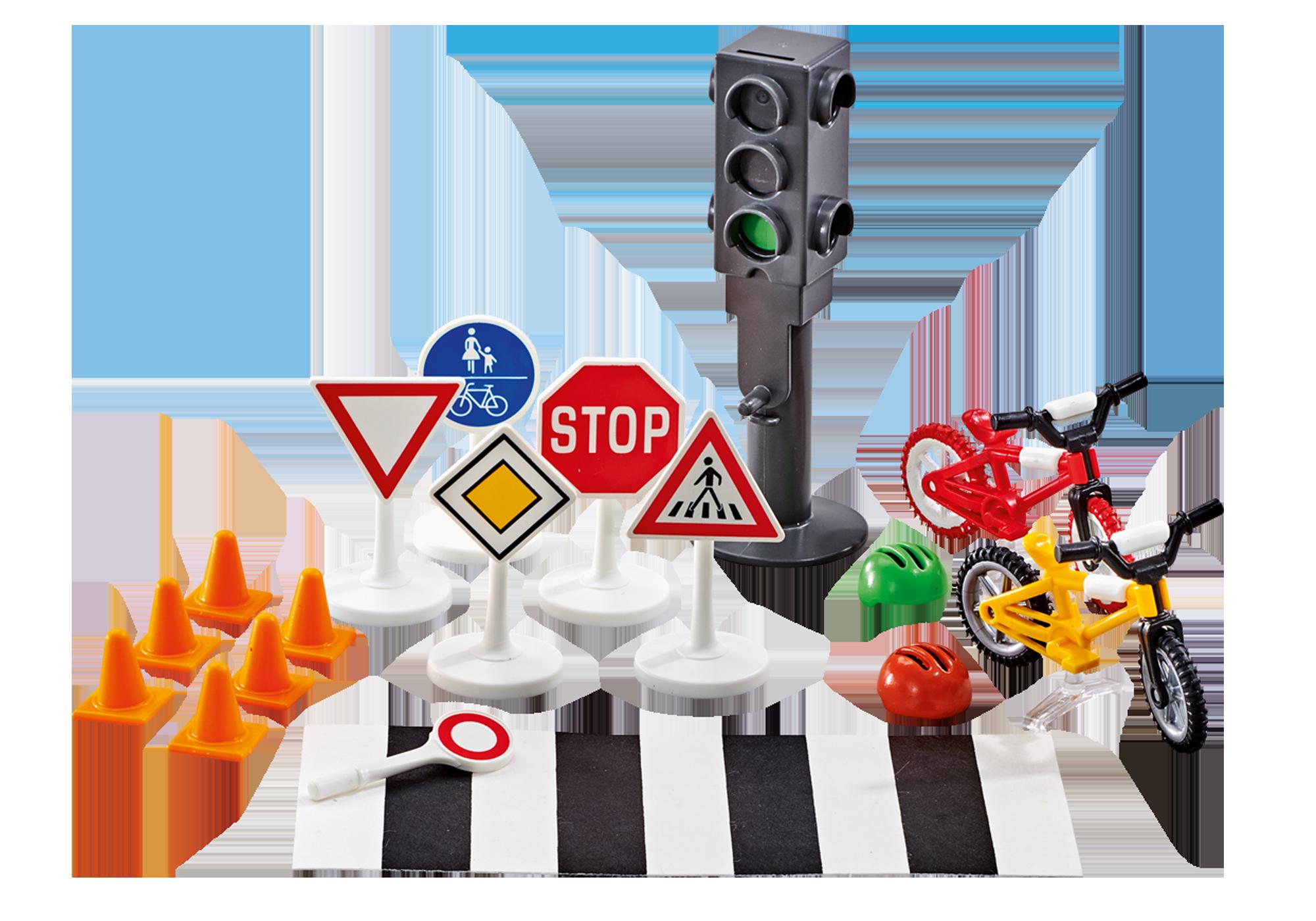 http://media.playmobil.com/i/playmobil/9812_product_detail/Set veilig in het verkeer
