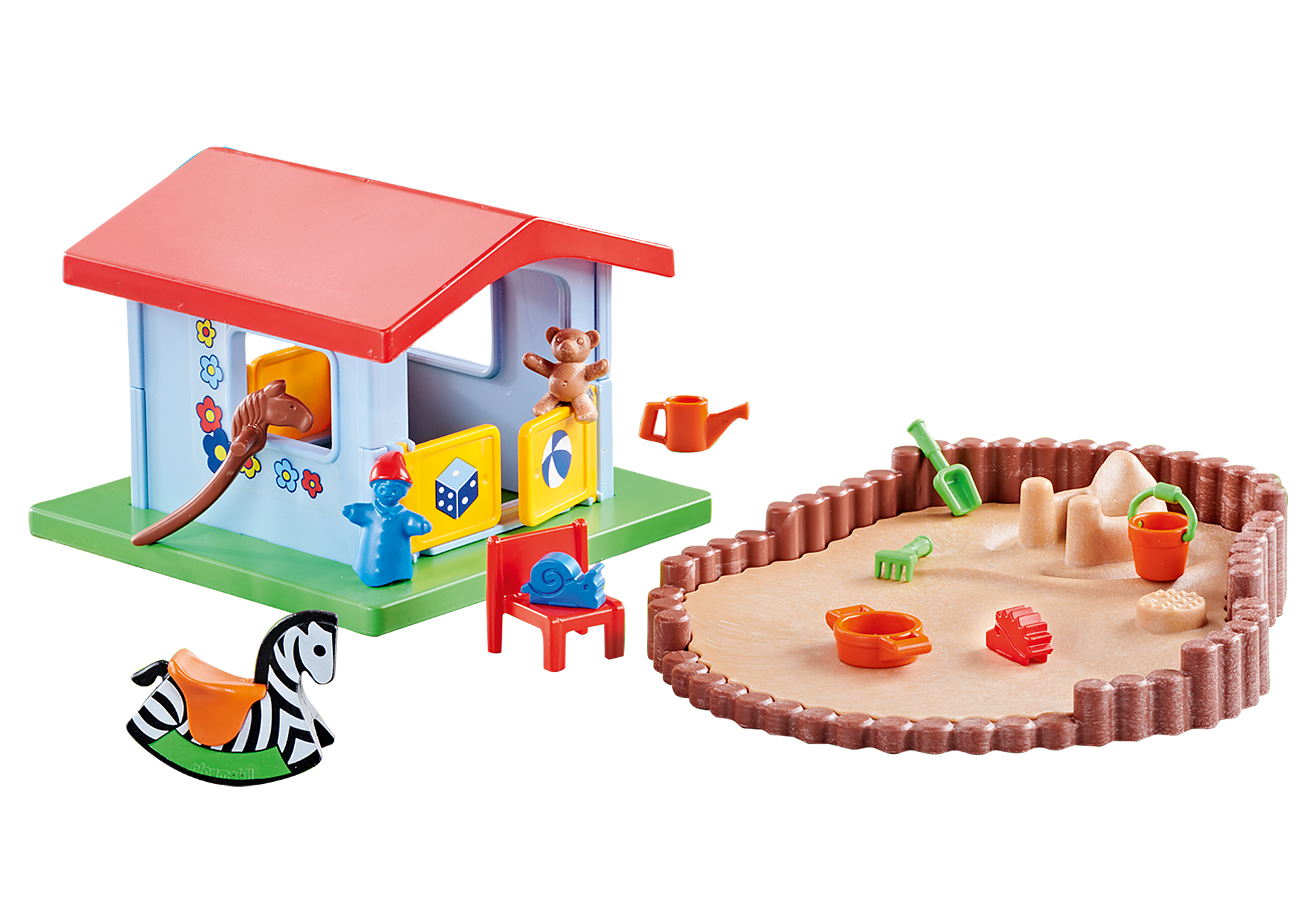 9814 Spielhäuschen mit Sandkasten zoom image1