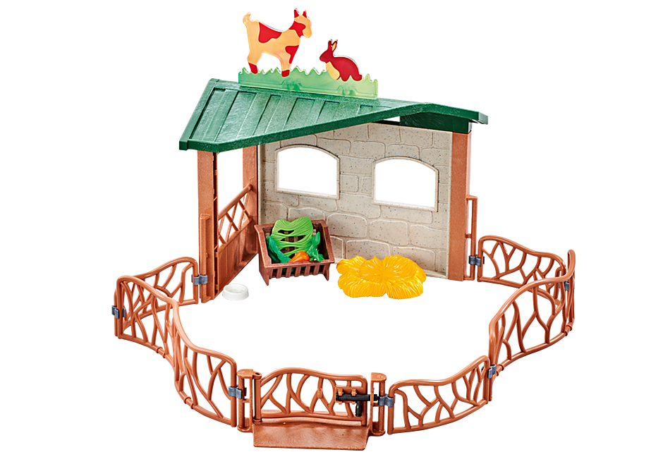 http://media.playmobil.com/i/playmobil/9815_product_detail/Χαμηλή περίφραξη για Ζωολογικό κήπο