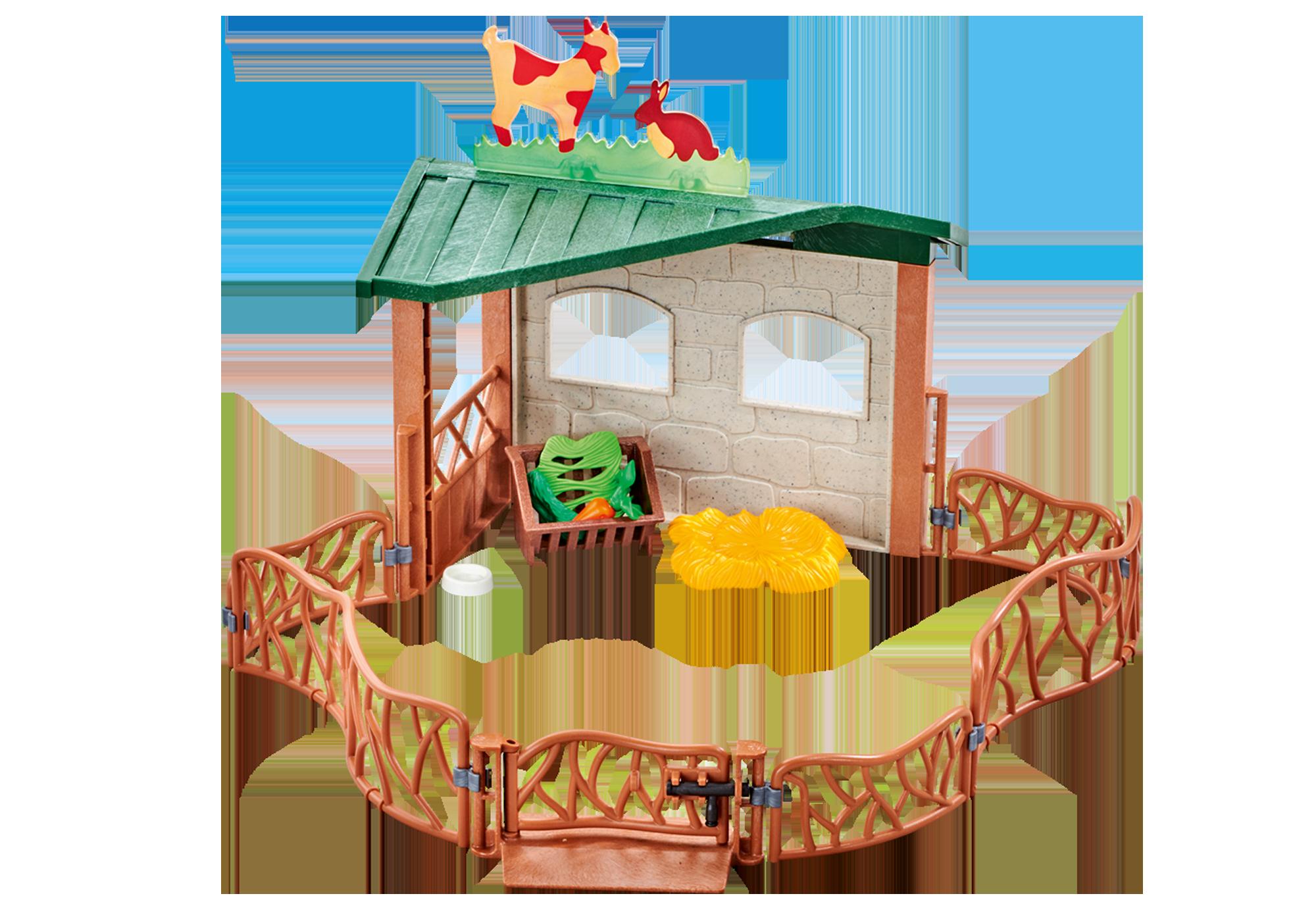 http://media.playmobil.com/i/playmobil/9815_product_detail/Petting Zoo Enclosure