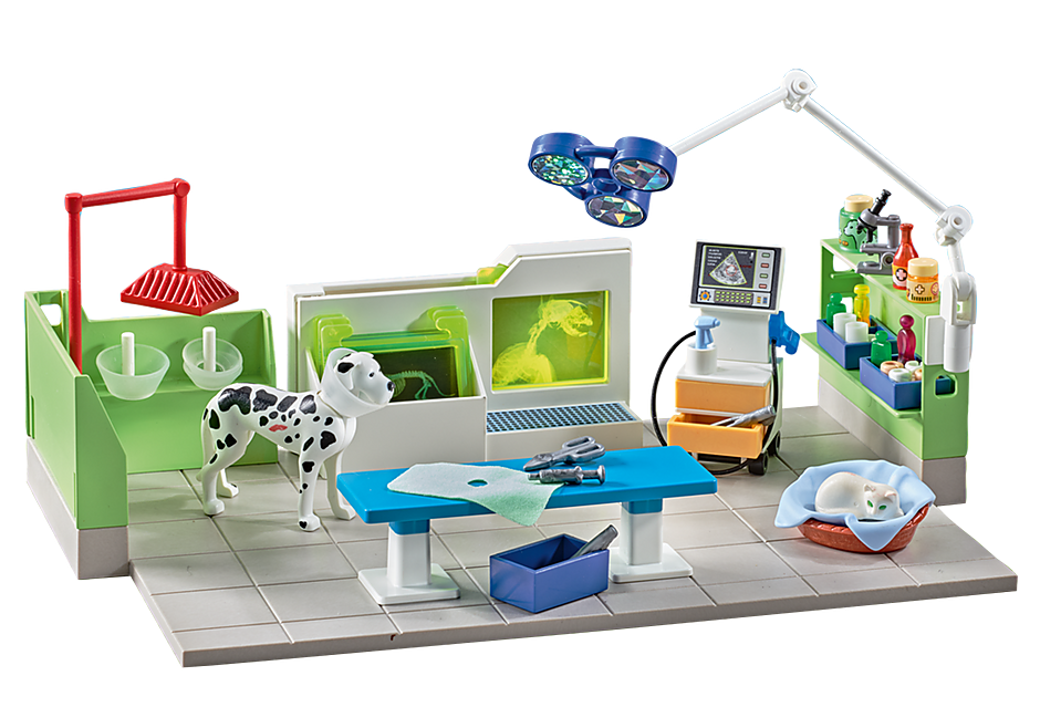 http://media.playmobil.com/i/playmobil/9816_product_detail/Vet Clinic with X-Ray Machine