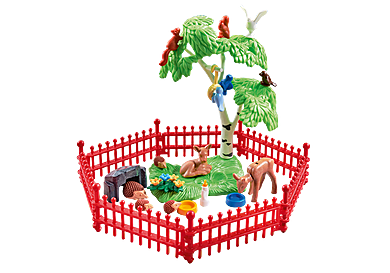 9817_product_detail/Wilde dieren met omheining