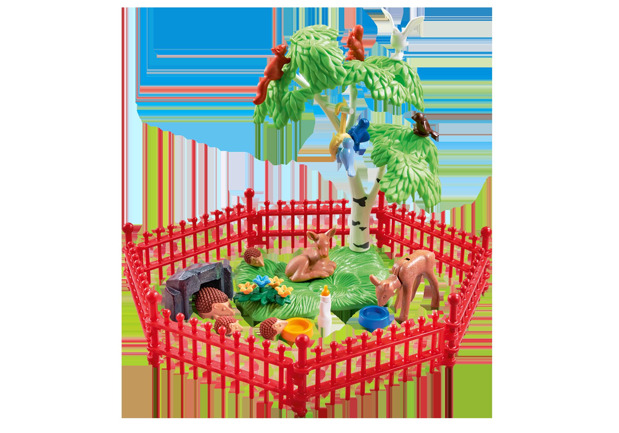 http://media.playmobil.com/i/playmobil/9817_product_detail/Wilde dieren met omheining
