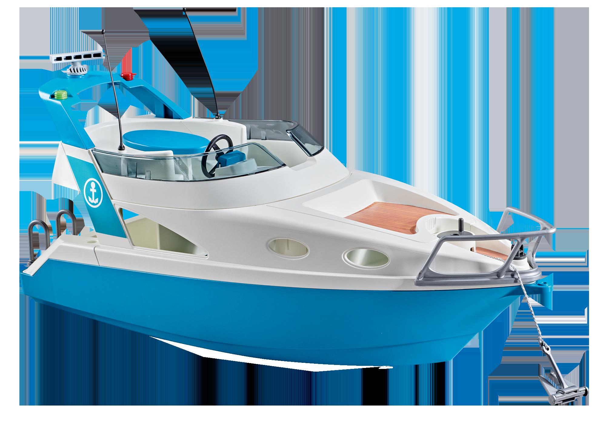 http://media.playmobil.com/i/playmobil/9822_product_detail/Πολυτελές σκάφος αναψυχής