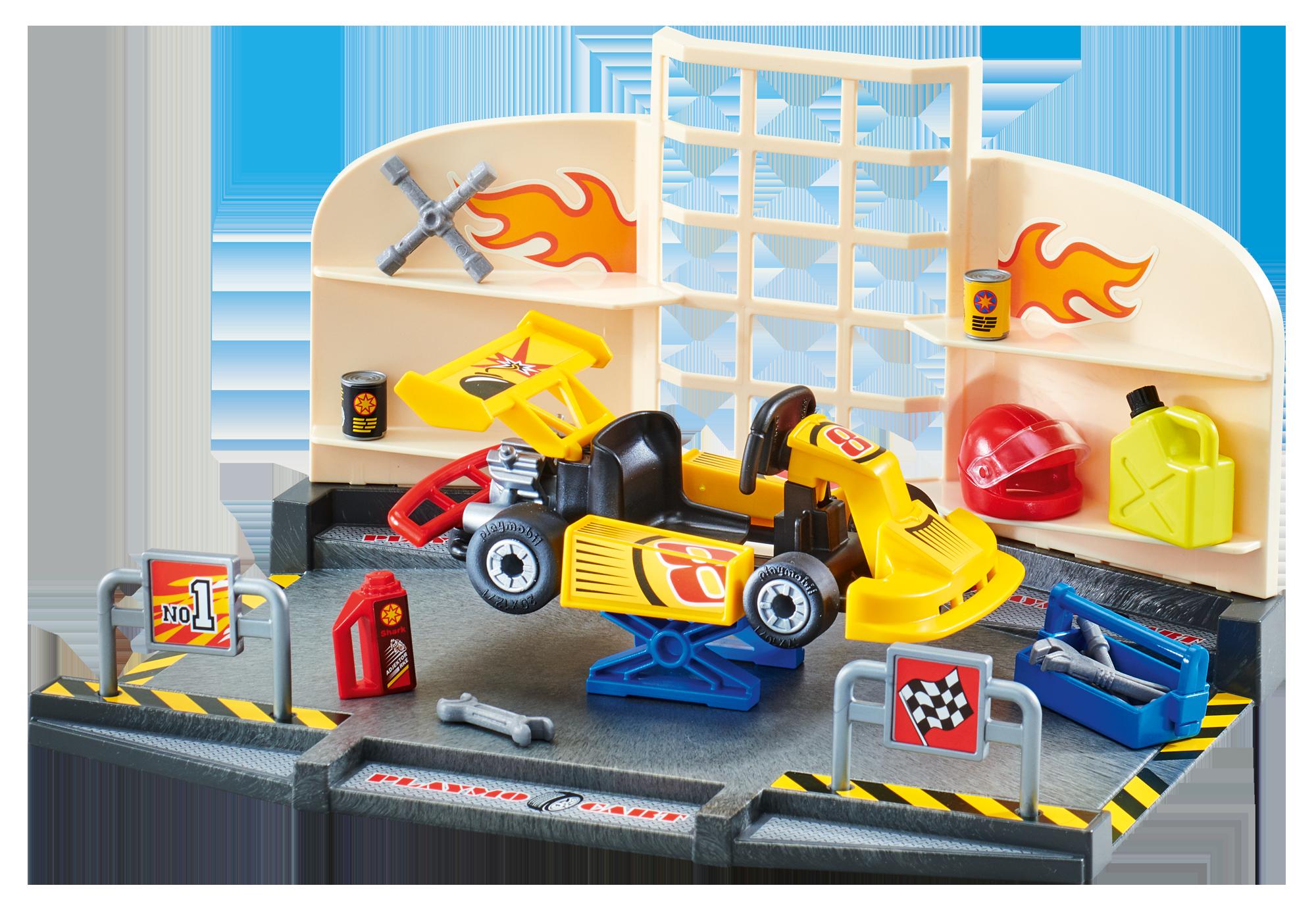 http://media.playmobil.com/i/playmobil/9827_product_detail/Officina Go-Kart