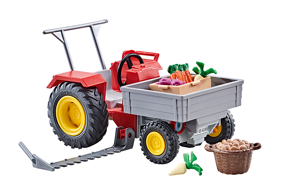 9831 Landbouwmaaier met groenten detail image 1