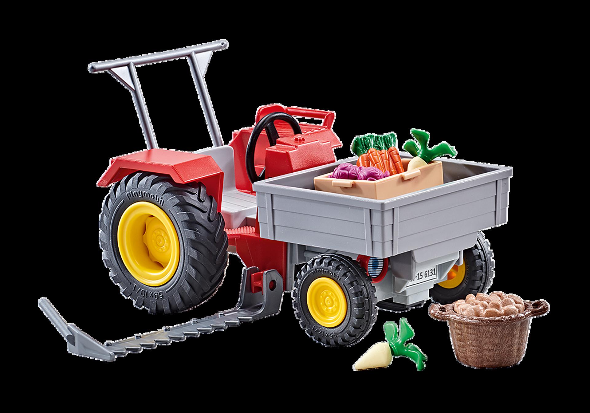 9831 Landbouwmaaier met groenten zoom image1
