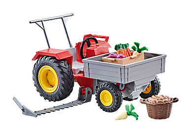 9831 Tractor with Cutter Bar