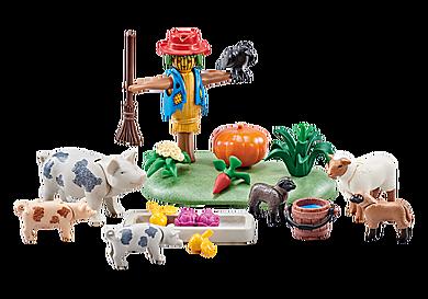 9832_product_detail/Mangiatoia della fattoria con spaventapasseri