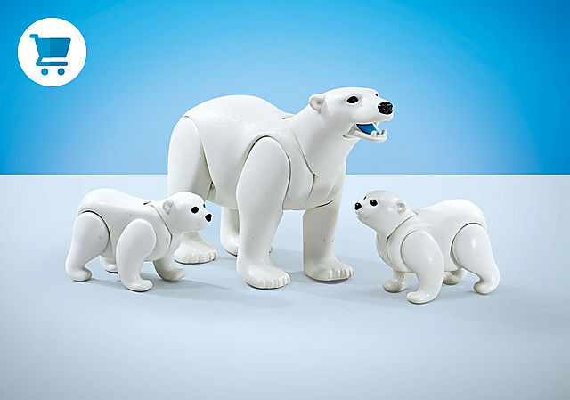 9833_product_detail/Família de ursos polar