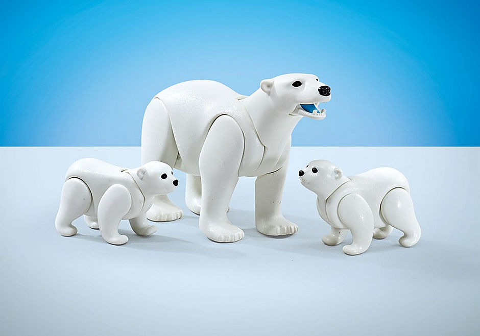 9833 Familie witte beren detail image 1