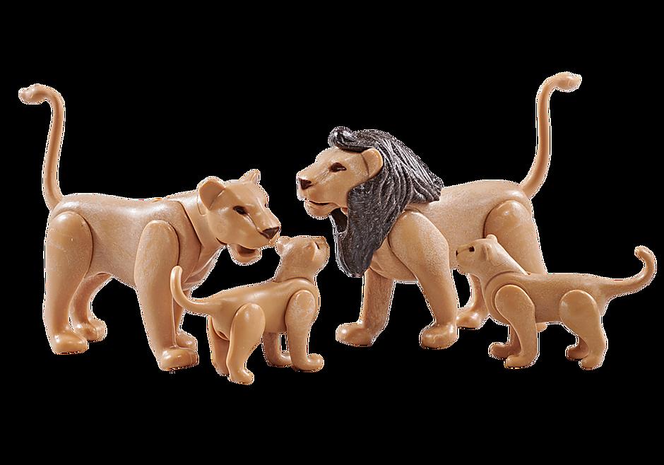 9834 Famille de lions  detail image 1