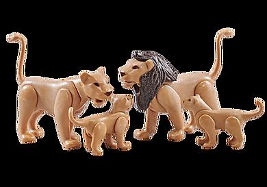 9834 Famille de lions