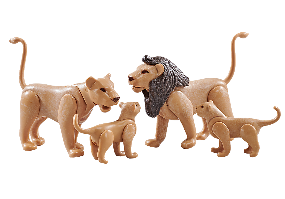 9834 Lion Family detail image 1