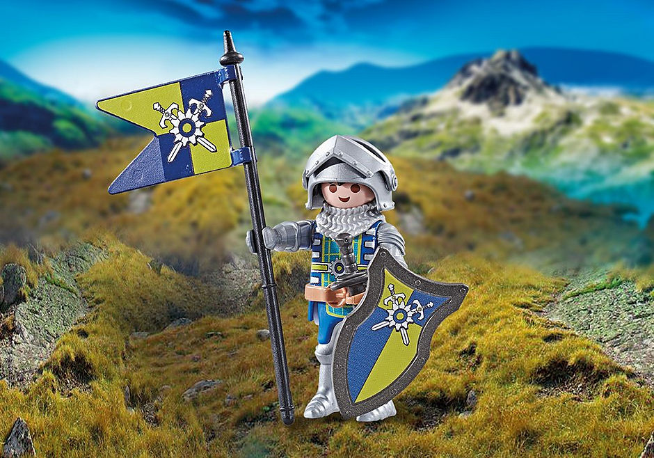 9835 Kapitein van de Novelmore ridders detail image 1