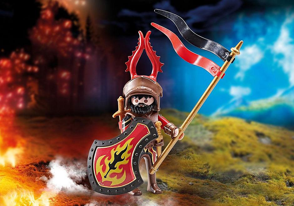 9837 Przywódca rycerzy Burnham Raiders detail image 1