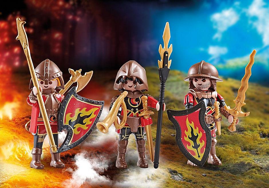 9838 Three Burnham Raiders detail image 1