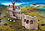 9839 Extensión de pared con catapulta para el Gran Castillo de Novelm
