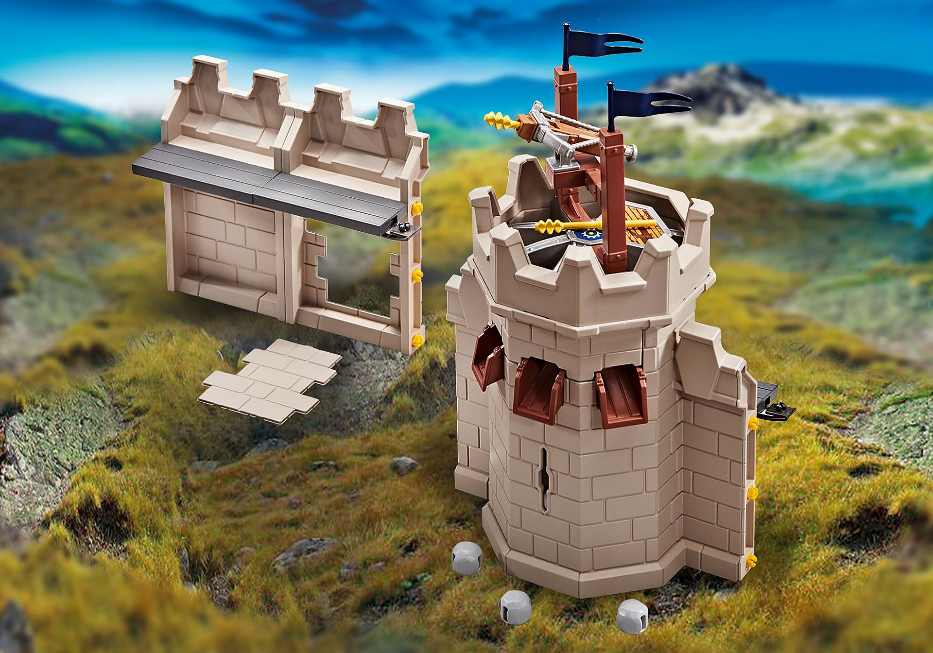 9840 Tower extension for Grand Castle of Novelmore zoom image1