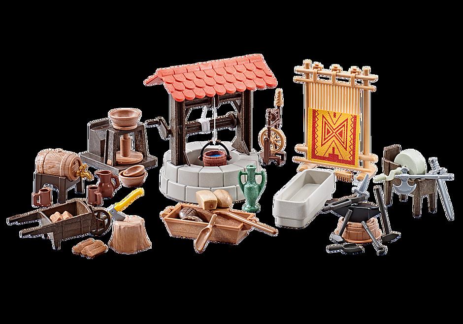 http://media.playmobil.com/i/playmobil/9842_product_detail/Acessórios da Vila Medieval