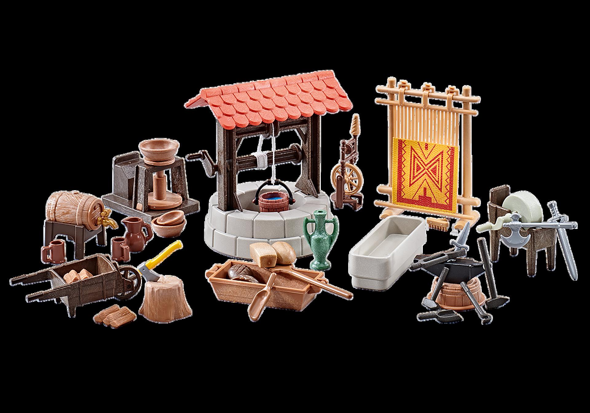9842 Medieval Village Accessories zoom image1