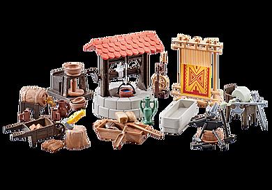 9842 Medieval Village Accessories