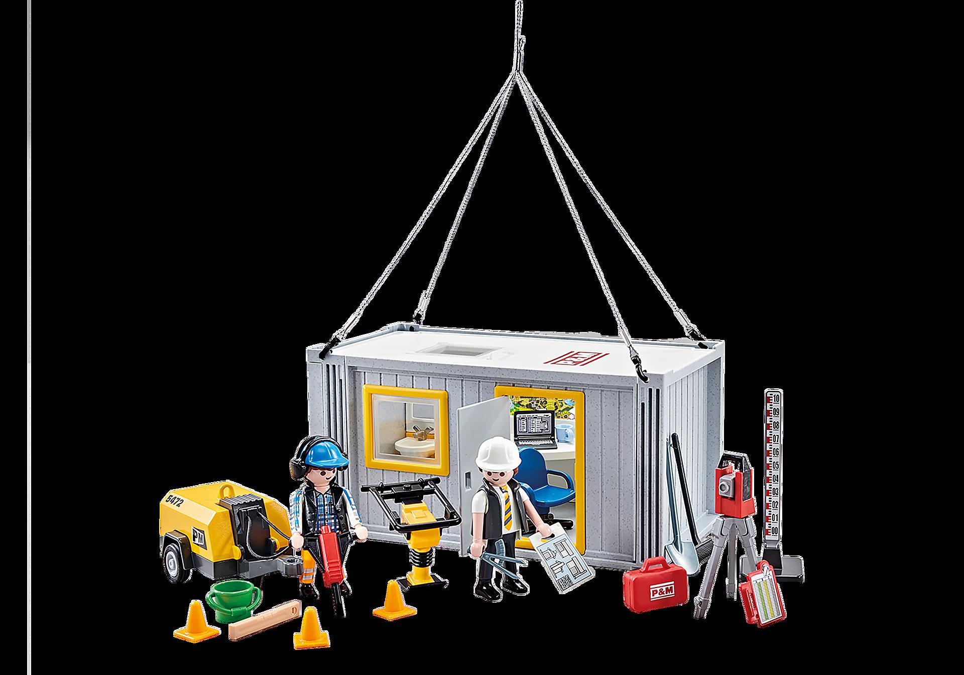 9843 Contentor de obras e trabalhadores zoom image1