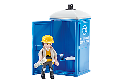9844 WC de obras portátil