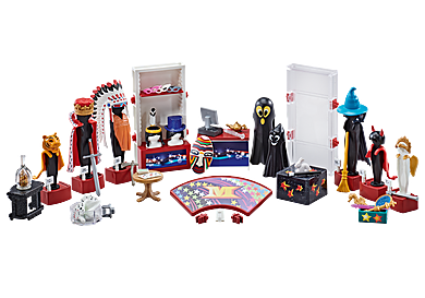 9847 Loge avec costumes
