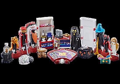 9847 Loge met kostuums