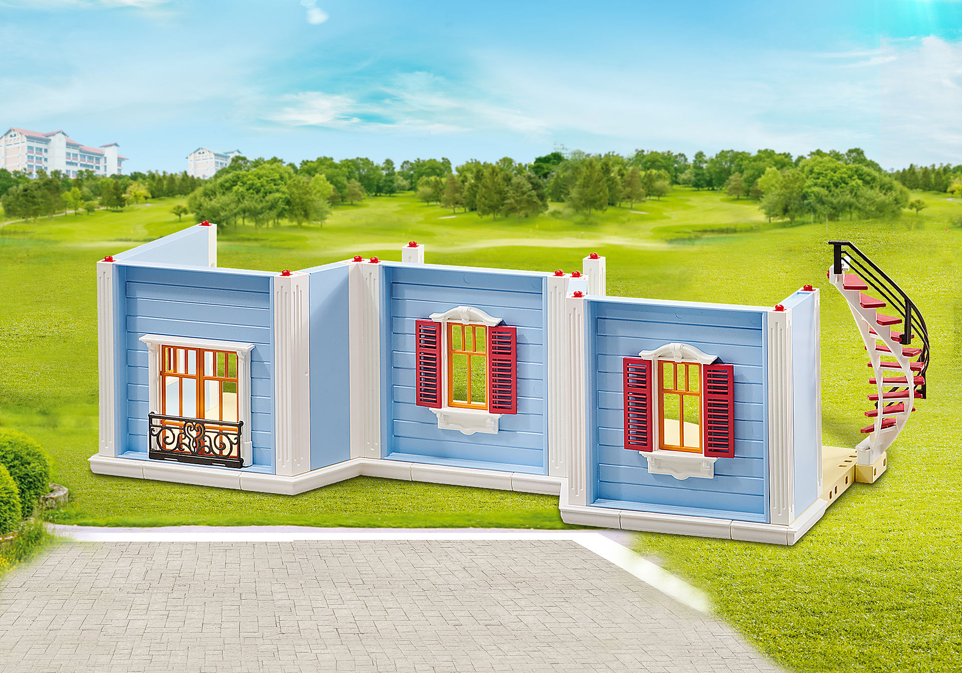 9849 Floor Extension for Large Doll House zoom image1