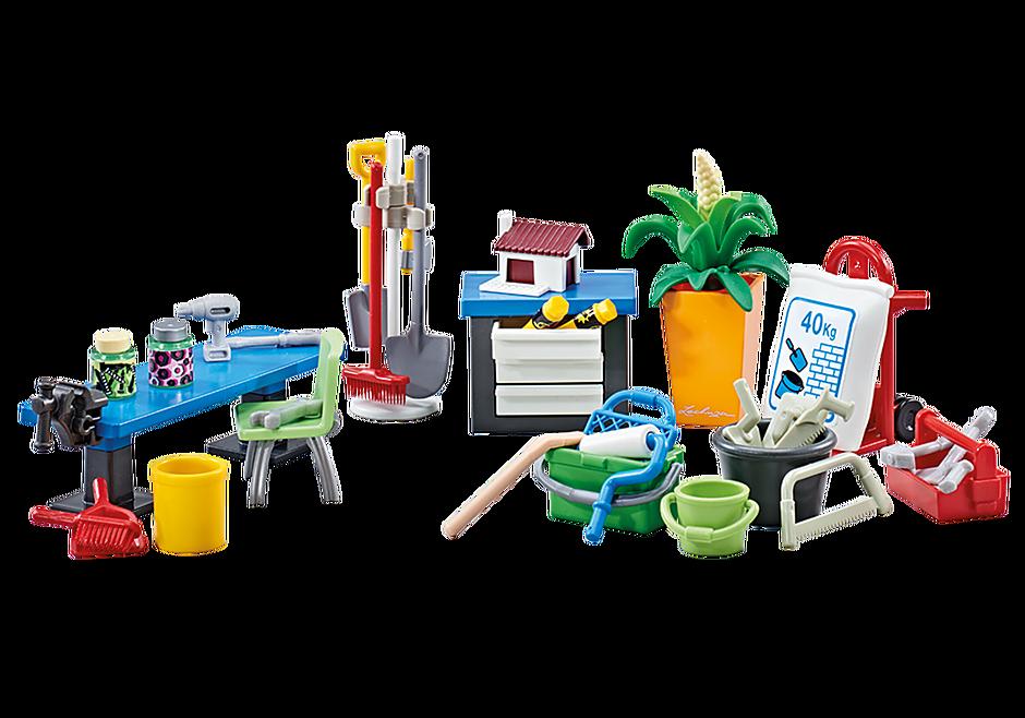 http://media.playmobil.com/i/playmobil/9851_product_detail/Aménagement pour atelier