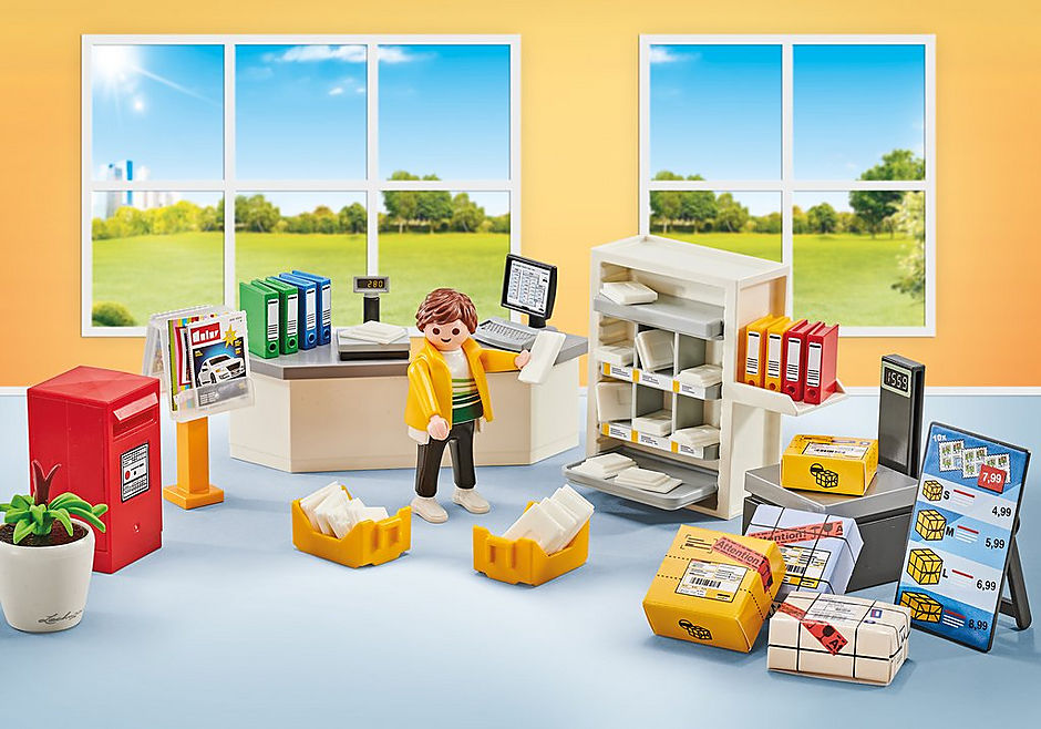9859 Aménagement bureau de poste detail image 1