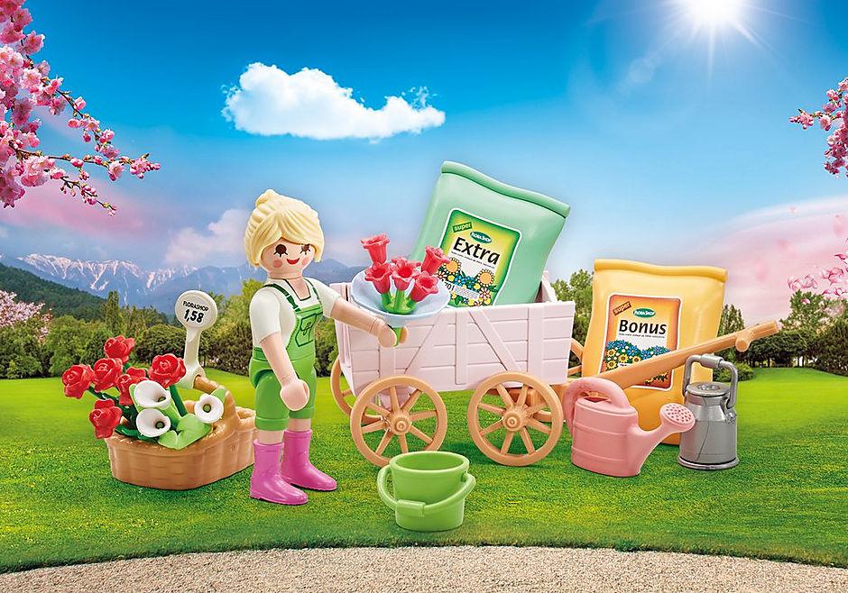 9861 Fleuriste printanière  detail image 1