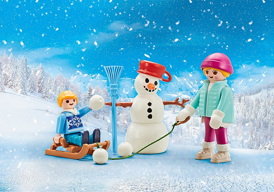 9864 4 seasons-set winter detail image 1