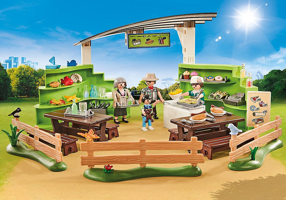 9871 Zoo restaurant with shop detail image 1