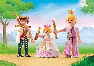 9877 Couple princier et enfant