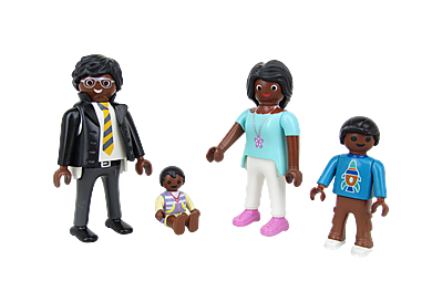 9881 Family Figure Set 3