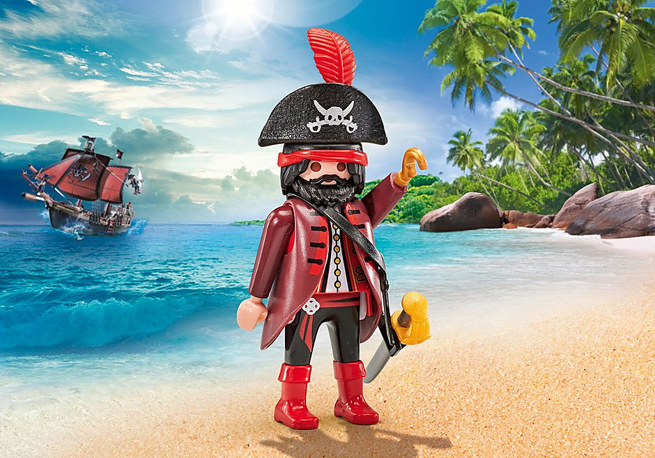 9883 Capitaine des pirates  detail image 1
