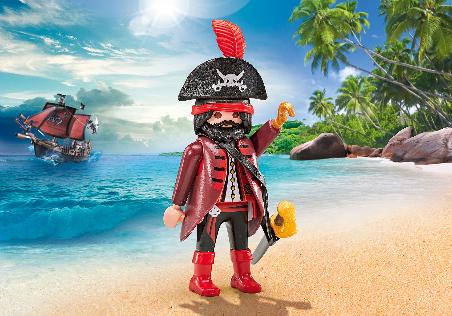 9883 Pirate Leader zoom image1