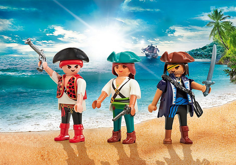 9884 Drie piraten detail image 1