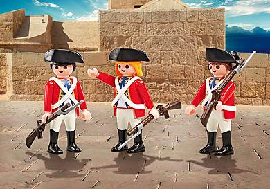 9886 Drie soldaten
