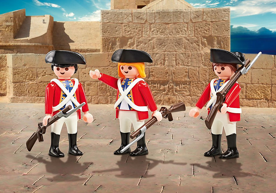 9886 Three Soldiers detail image 1