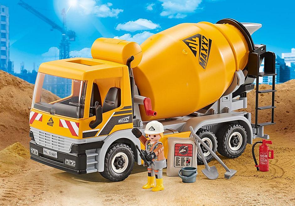 9887 Cement Mixer detail image 1