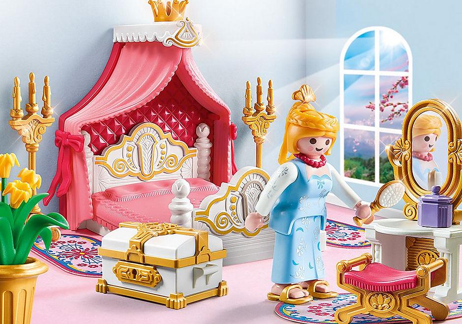 9889 Schlafzimmer mit Himmelbett detail image 1